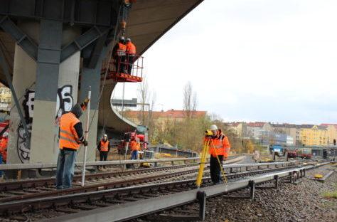 Bauüberwachungs- und Kontrollvermessung