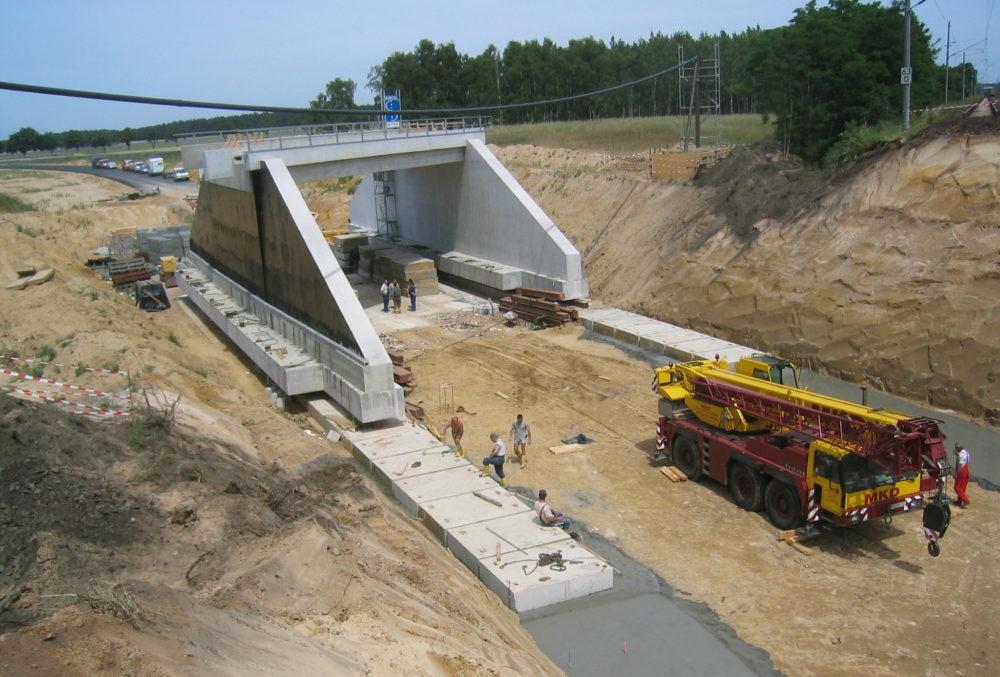 Brückenverschub Belzig